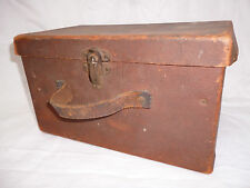 ANTIQUE CHILDS SCHOOL CASE - very old & an unusual shape