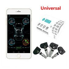 3V Car SUV Bluetooth Android IOS Tire Pressure Monitor System 4 Internal Sensors