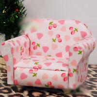 1/12 Puppenhaus Miniatur Sofa Fernsehsessel Sessel für 1:12 Dollhouse