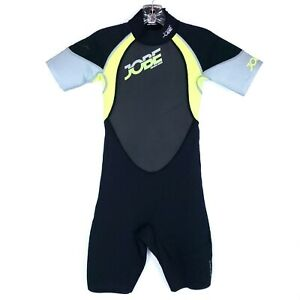 JOBE Youth Impress Shorty F-Flex Wetsuit Black Multi Size 2XL
