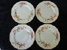 Vintage! 4 Pc Of Dessert Plates, Alfred Meakin MARIGOLD Astoria Shape Delici