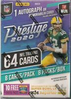 2020 PANINI PRESTIGE NFL FOOTBALL BLASTER BOX BURROW TUA HERBERT HURTS CARDS RC