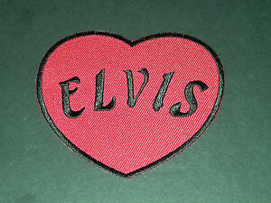 Elvis Presley Sew or Iron On Patch