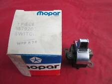 NOS MOPAR Tailgate Window Switch On Dash 1972 Plymouth Dodge Chrysler 3579207