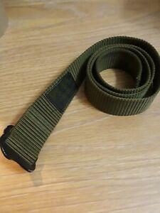 "Spec-Ops Belt Mens Olive Heavy Duty Rigging Utility Tactical 43"" dark green"