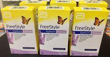 Abbott FreeStyle Optium Blood ß-Ketone Test Strips x 6 boxes = 60 strips