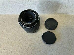 Asahi Pentax SMC Pentax-M 100mm f/4 Macro Lens for K Mount
