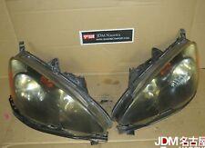 JDM 02-04 Honda DC5 Type R Acura RSX OEM Black Housing Front Headlights