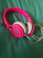 Beats by Dr. Dre Mixr Headphones With Wire - Hot Pink GENUINE AUTHENTIC
