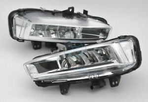 For Land Rover Discovery Sport L550 14-18 A Set 2x LED Daytime Day Fog Light DRL