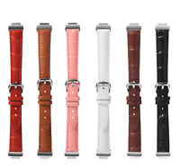 For Fitbit Inspire/Inspire HR Leather Buckle Watch Band Strap Wristband Bracelet