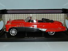Motor Max 1/18 1949 Buick Roadmaster Custom Red/Black MIB