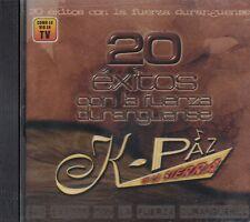 K- Paz De La Sierra 20 exitos Con La Fuerza Duranguense CD New Nuevo Sealed