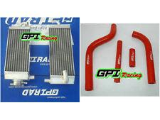 Aluminum radiator + hose YAMAHA YZ250  YZ 250 96-01 97 98 99 00 2001 2000 1998