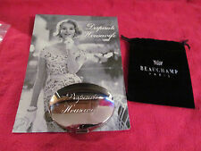 Desperate Housewife Engraved Compact Mirror by Beauchamp Paris w/Velveteen Pouch