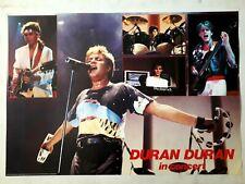 Duran Duran in Concert Vintage 1980's Poster