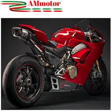 Scarico Completo Racing Termignoni 4 Uscite Ducati Panigale V4 2018 Titanio Moto