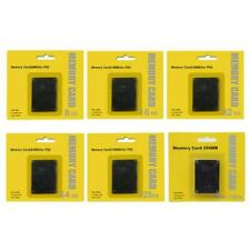 8~256Mb Memory Card For Playstation 2 For Ps2 Sealed 2021 E4O2