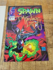 Spawn#1 Signed Newsstand Edition! 1st App  Spawn Image Comics Todd Mcfarlane1992