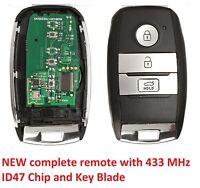NEW Kia Optima Picanto Sorento Sportage Smart Key and Remote 2013 2014 2015 2016