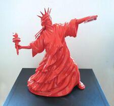WHATSHISNAME - RIOT OF LIBERTY- RED - POPEK - No Jeff koons kusama banksy