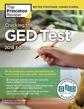 Cracking the GED Test with 2 Practice Exams, 2018 Edition: All the Strategies, R