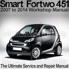 Smart Car Service Repair Manuals Ebay