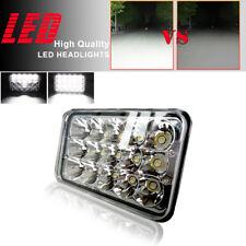 "For Truck,Ford LTD Rectangluar LED Headlight High Low Beam 4"" X 6"" Headlamp 2Pcs"