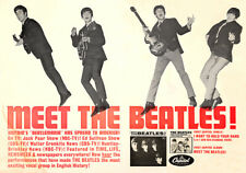 """""""MEET THE BEATLES!"""" 1964 PROMOTIONAL POSTER"""