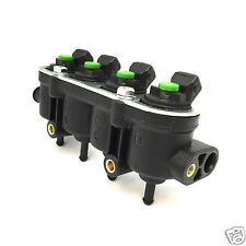 Landirenzo Landi Rail Injektor Leiste mit Sensoraufnahme MED 25-22 grün LPG GPL