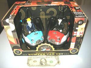 FAO SCHWARZ - Remote Control Bumper Car Set, Nostalgic Model w/sound effects