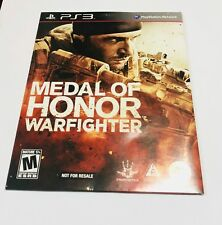 Medal of Honor: Warfighter - (Sony PlayStation 3, 2012)
