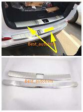 Rear Bumper Protector Sill Plate For 2016-2017 Hyundai Tucson Steel Door Sill