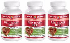 Blutdruck Vitamine für Männer-Roter Hefe Reis 600MG 3B-rote Hefe Weider