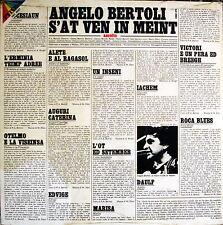 "ANGELO BERTOLI - S' At Ven In Meint 1978 LP 12"" SIGILLATO RARITA'"