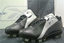 REEBOK BASEBALL BOOTS SIZE 10.5 UK SHOES RUNNING SPORT TRAINERS BLACK GREY