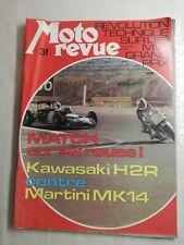 N43 Moto Revue  N°2194 14 nov 1974 Match sur six roues Kawa vs Martini Mk 14