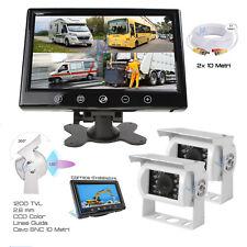 """Telecamera Posteriore HD Monitor 9"""" Kit Retromarcia Equipaggiamento di sicurezza"""