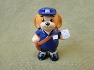 Webkinz Mail Carrier Dog Figure
