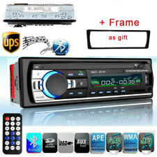 1DIN Car Radio MP5 MP3 Player Bluetooth USB Receiver Stereo Audio Radio AUX IN