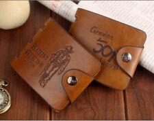 Men's Short Wallet Leather Bailini Hunter Wallet