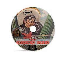 The Cisco Kid 352 Old Time Radio Shows In MP3 Audio Format Supplied On A DVD