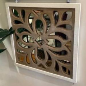 Mirror- Imari Wood Wall Decor 3