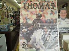 "1992 Starline  Poster Frank ""Big Hurt"" Thomas Chicago White Sox"