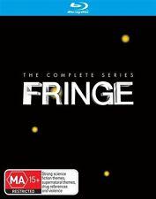 Fringe : Season 1-5 (Blu-ray, 2014, 20-Disc Set)