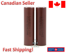 2 X LG INR 18650 HG2 3000mAh Rechargeable Battery HIGH DRAIN Flat Top 20A