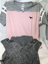 Victoria's Secret Pink Leggings & Tee Shirt XS Set  Strappy SUPER CUTE💖 NWT