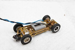 Imai 1/32 adjustable brass chassis and motor vintage 1960s Revell MRRC