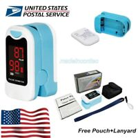 Finger Pulse Oximeter Blood Oxygen Saturation Pulse Rate Monitor SPO2 Newest USA