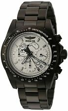 Invicta 24485 Character Collection Men's 39.5mm Chrono Black Steel Watch